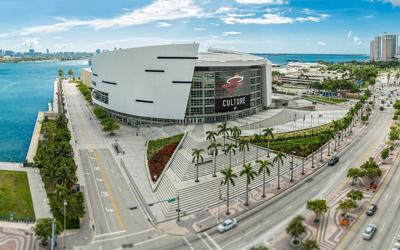 The Miami Heat's home arena on Biscayne Bay will now be known as the FTX arena.