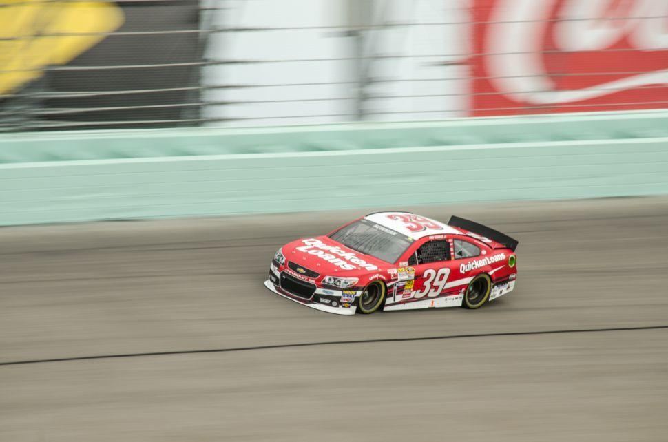 Ford 400 Practice Ryan Newman