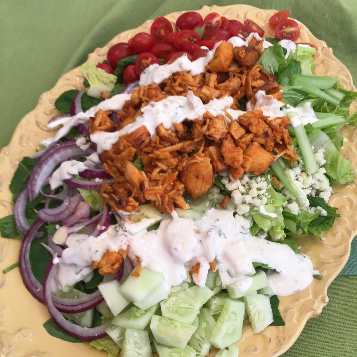 Linda's Summer Salad with Chicken