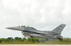 F-16 Lands at HARB