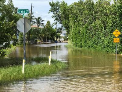 King Tide flooding in the Keys