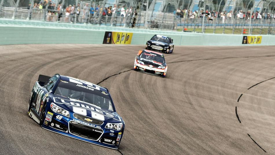 Ford 400 Practice Jimmie Johnson