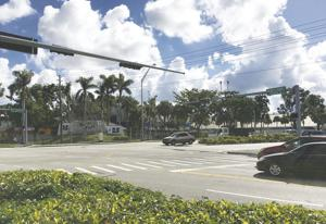 Red Light cameras currently at the intersection of Campbell Drive and US1.