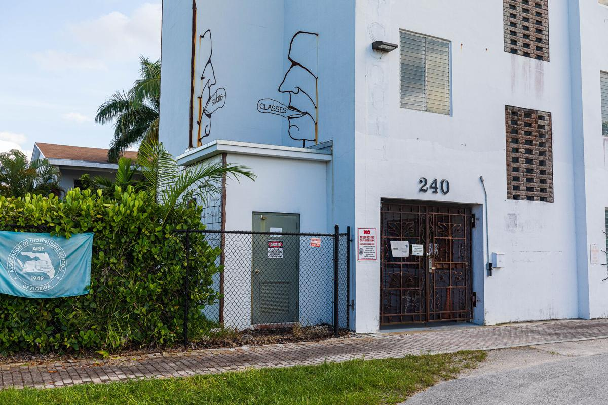 The scrolled iron work doors of Atala Montessori School for Creative Expression will open as they take extra health and safety measures in their phased re-opening.