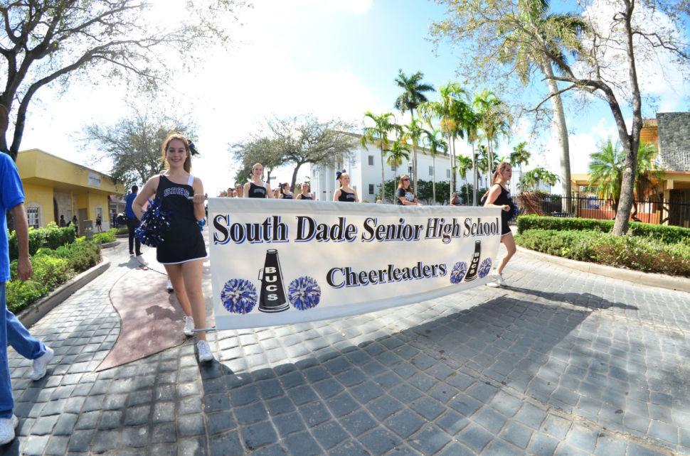 South Dade Championship Parade Cheer Sign
