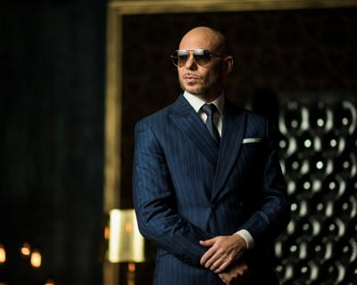Pitbull, new team owner at Trackhouse Racing.