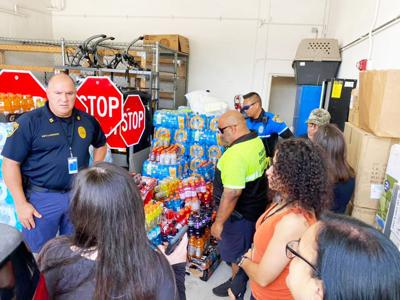 In the exhausting weeks of the Surfside Condo Search and Rescue efforts, Brightseasons members  delivered beverages and snacks for first responders.