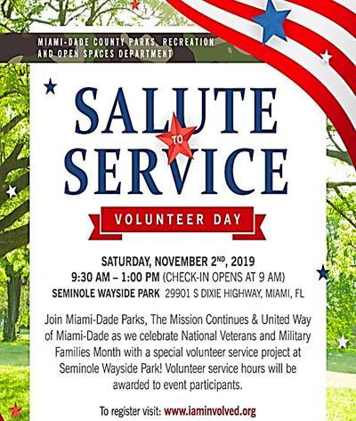 Salute to Service - Saturday, Nov. 2nd