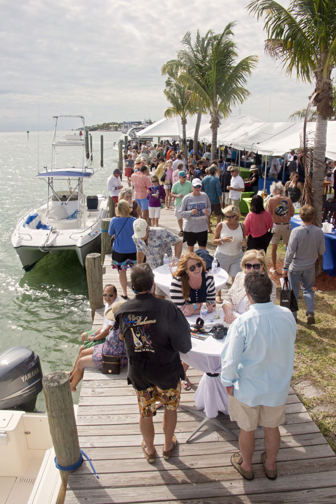 Eat and drink in paradise at the Uncorked Food and Wine Festival.