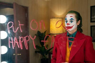 "Joaquin Phoenix's stars in ""The Joker."""