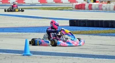Ryan Norberg was the winner of the X30 Senior SKUSA Winter Series held at AMR Homestead-Miami Motorplex.