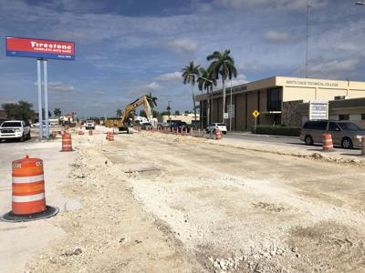 Road Construction on Campbell Drive