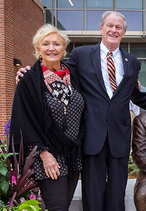 FSU president and first lady, John and Jean Thrasher.
