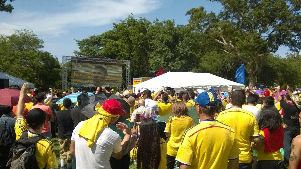Colombia vs. Brazil in Miami