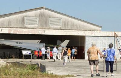 Historic Nike Missile Base at Everglades National Park.