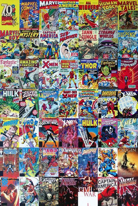 A sampling of the fabulous works of Stan Lee