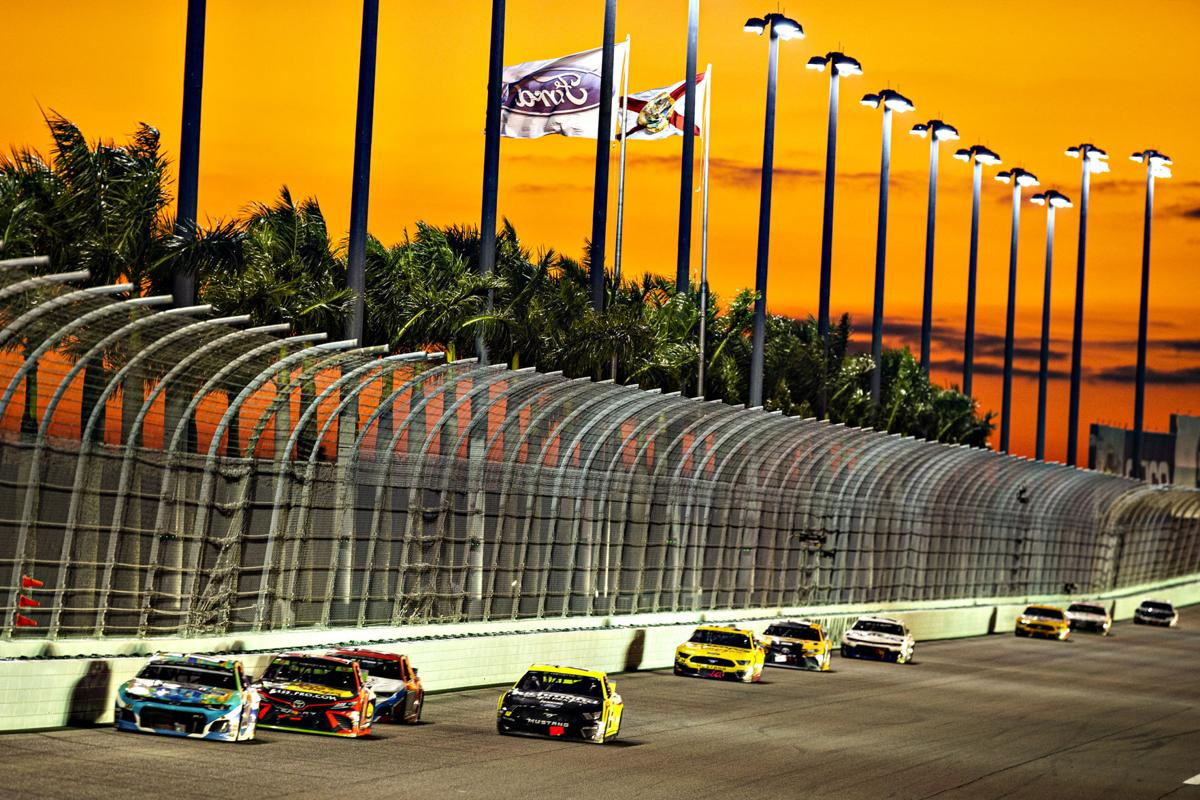 Racing is back at Homestead-Miami Speedway.