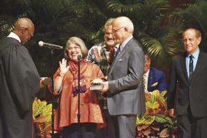 Miami-Dade Commissioner Daniella Levine-Cava is sworn in for her second term.