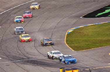 Racing at Homestead