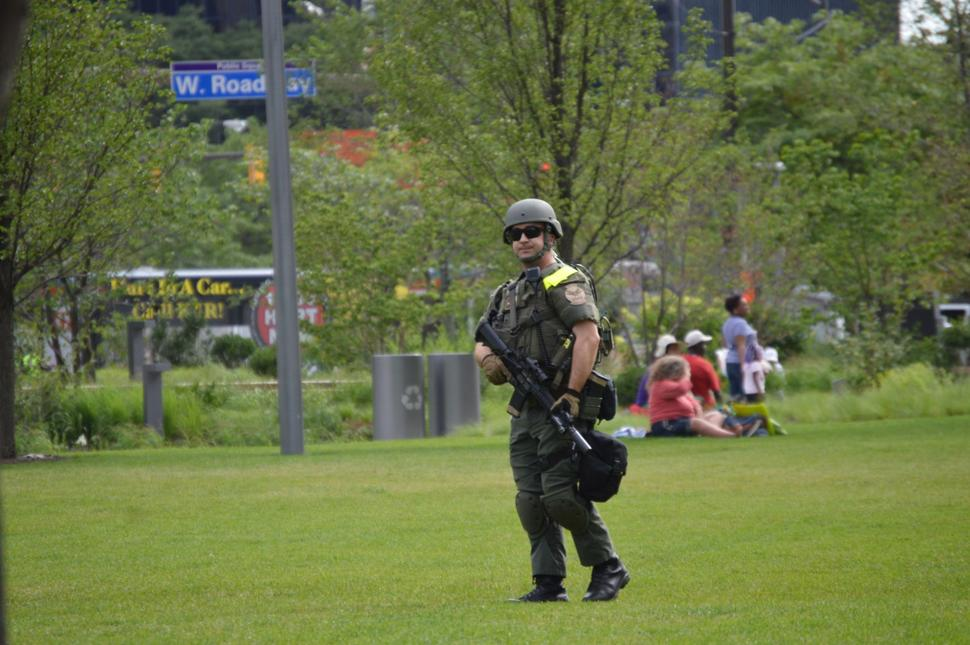 RNC Convention in Cleveland - Cops