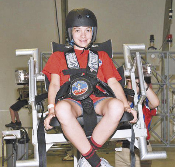 Warhawks fly at summer space camp