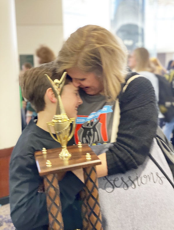 Sessions brings home trophy from JTF