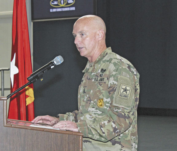 Army Combat Readiness Center welcomes new sergeant major