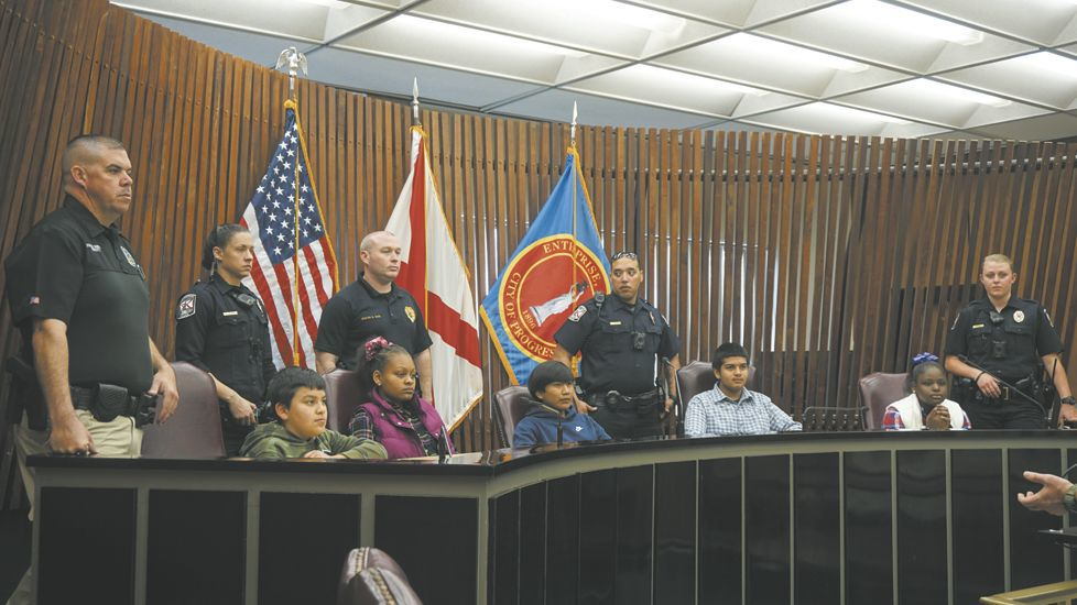 Biannual 'Shop-With-A-Cop' held