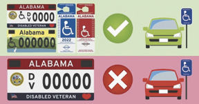 Drivers need proper license plate or placard to use handicapped parking spots