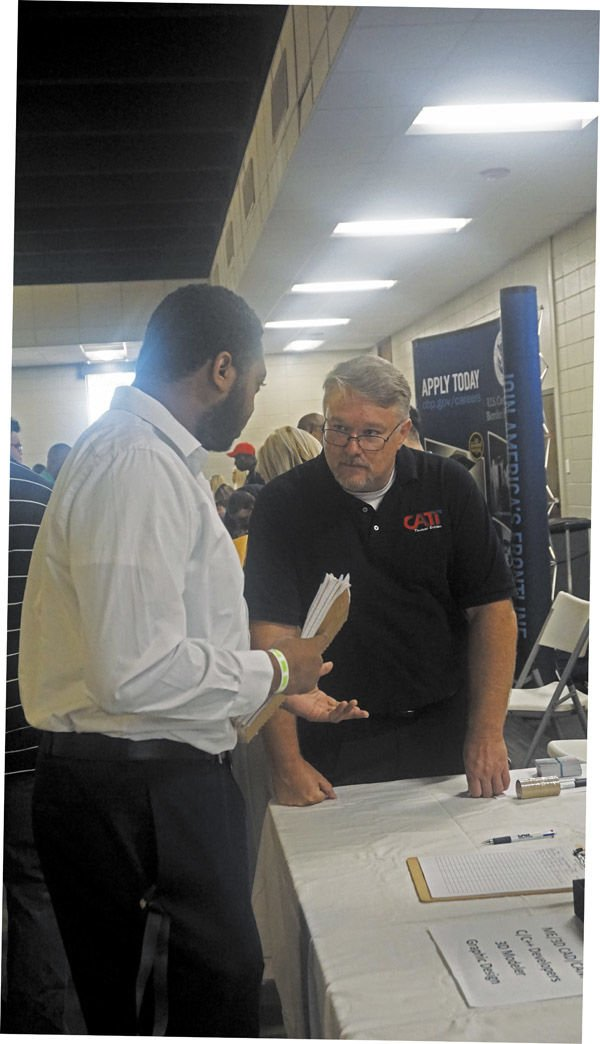 Job seekers flock to Wiregrass-Fort Rucker Job Fair
