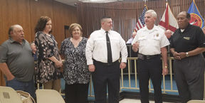 Two Enterprise firefighters promoted