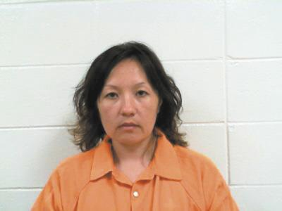 Woman arrested in vehicle theft