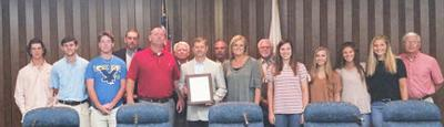 Dale County Commission honors state champions