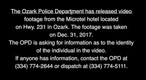 Ozark hotel robbed a second time