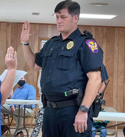 New Acting Level Plains Police Chief sworn in to office