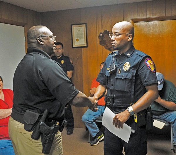 LPPD officer receives promotion