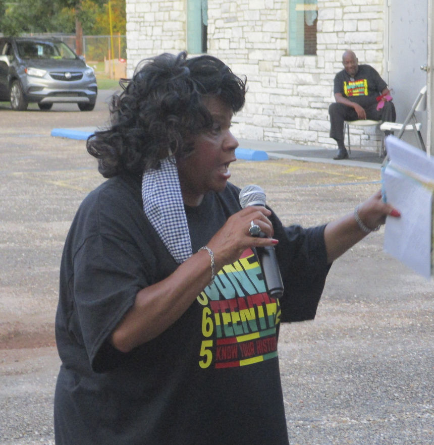 Inaugural Juneteenth Celebration held in Enterprise