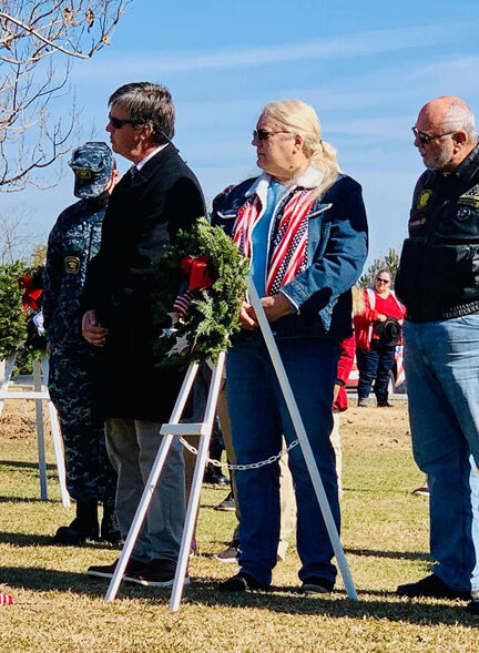 Sixth Wreaths Across America held in City Cemetery