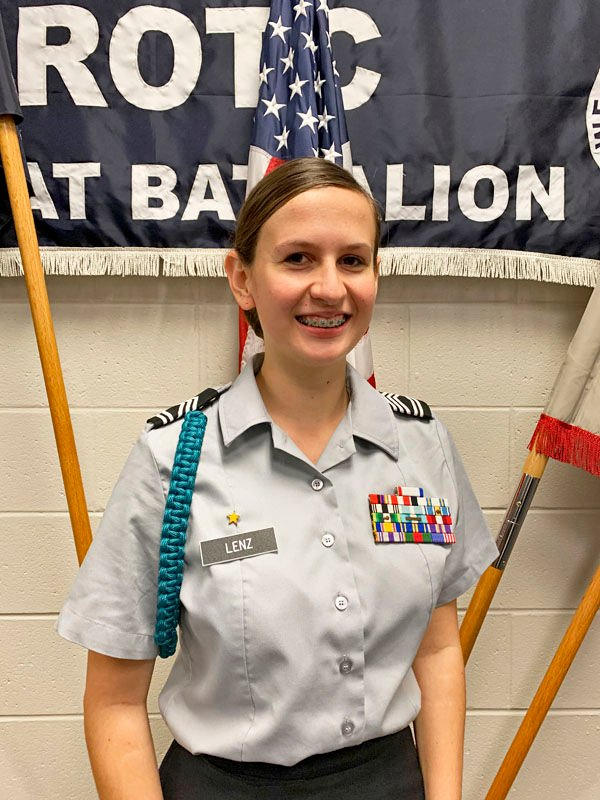 NCO, Cadet of the Month named