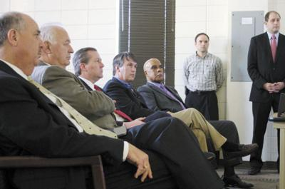 Speaker of the House Mike Hubbard visits ESCC