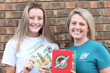 Spreading God's message one shoebox at a time