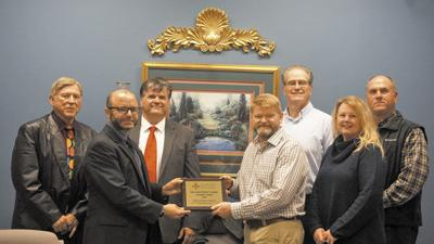 CCBOE receives President's Award