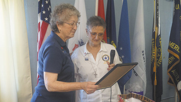American Legion, Auxiliary recognize Auxiliary members