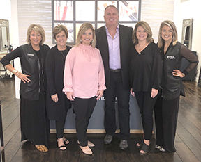 Merle Norman VP visits local store