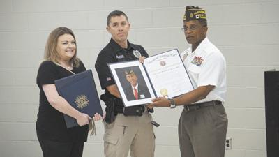 Holley receives state, national VFW awards