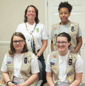 New Girl Scout patch celebrates city's centennial celebrity