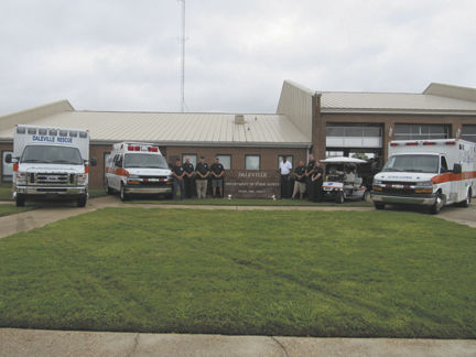City of Daleville receives rescue upgrades, new ambulance