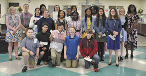 New members inducted to Junior Beta Club