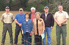 Alabama Forestry Commission, Garden Clubs celebrate Arbor Day