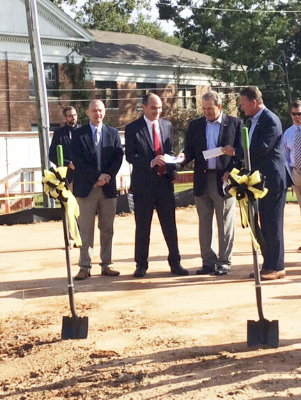 Ground breaking for two new classrooms at Newton Elementary